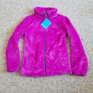 NWT GIRLS Columbia Fleece Jacket Size Medium